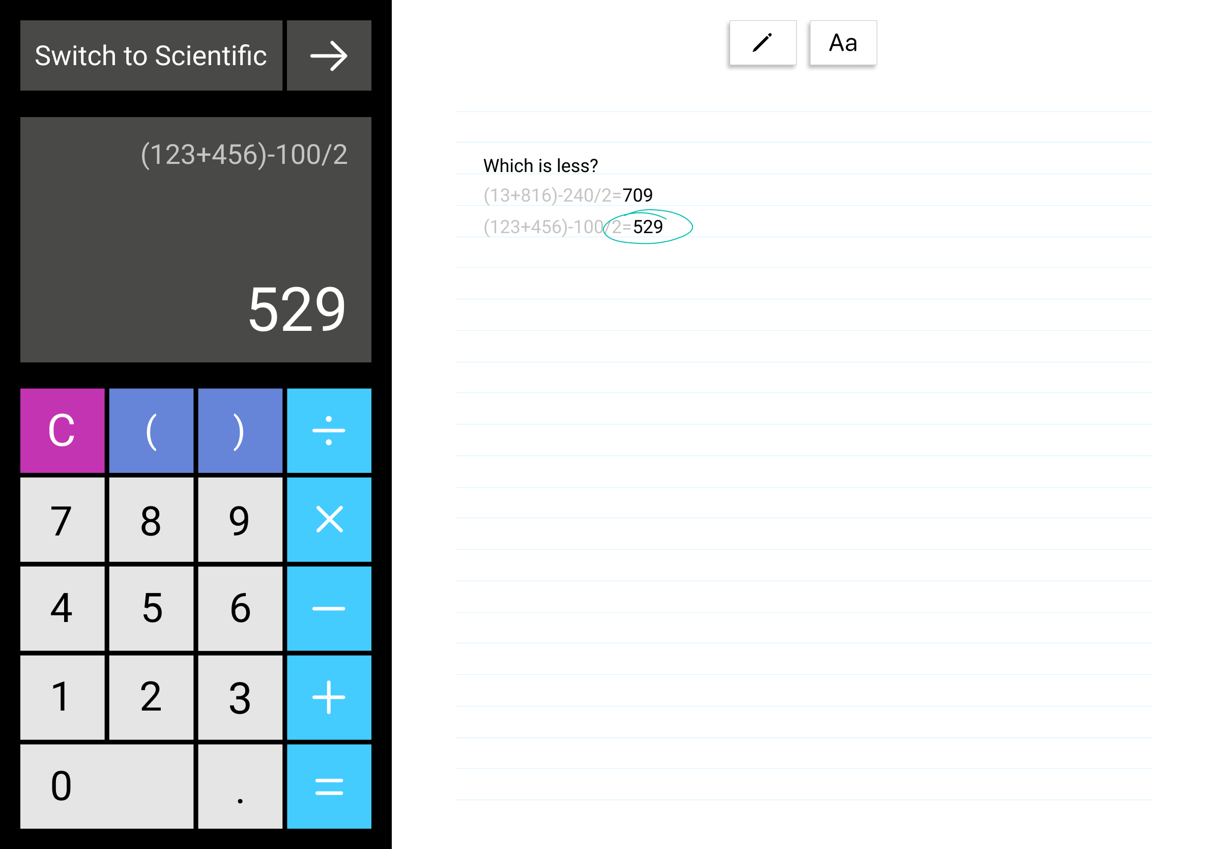 Ipad-calculator-and-notes-square